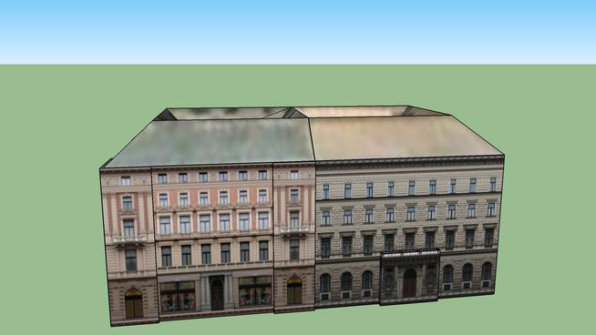 Andrassy Avenue 8-10. Budapest