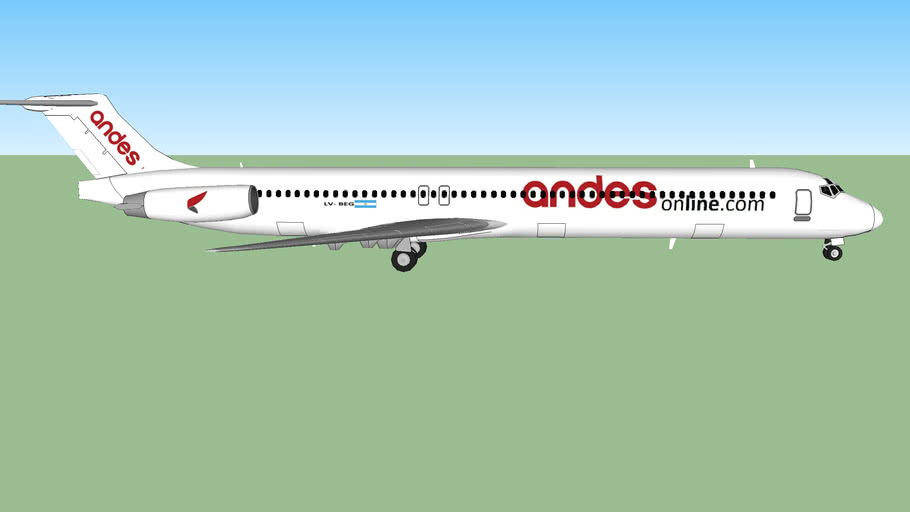 Andes Lineas Aereas (LV-BEG) McDonnell Douglas MD-83