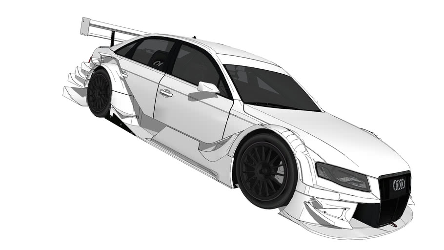 2008 Audi A4 Touring Car (Unmarked)