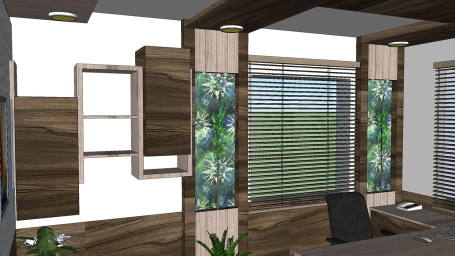 3D Office room design