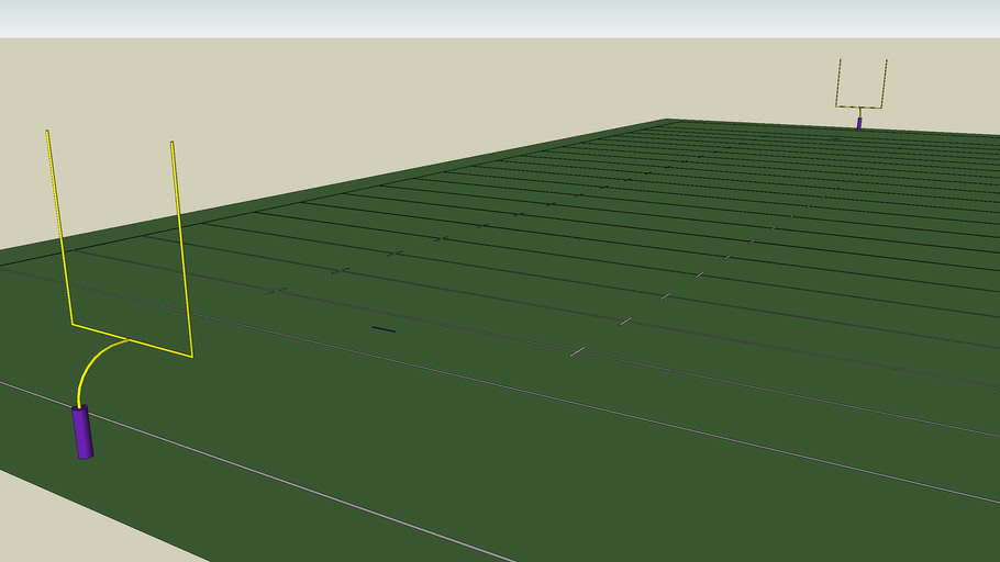 Gridiron Football Field
