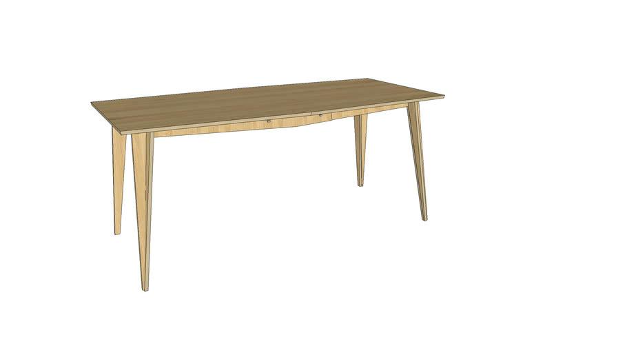 MACIEK 175x85x75 table by Tabanda - oak
