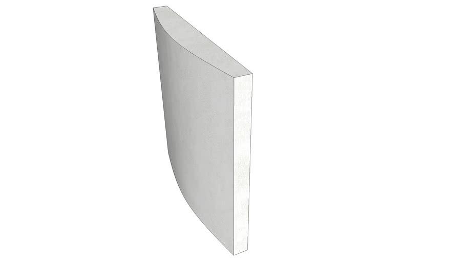 EliAcoustic Curve Panel 60 Premiere White