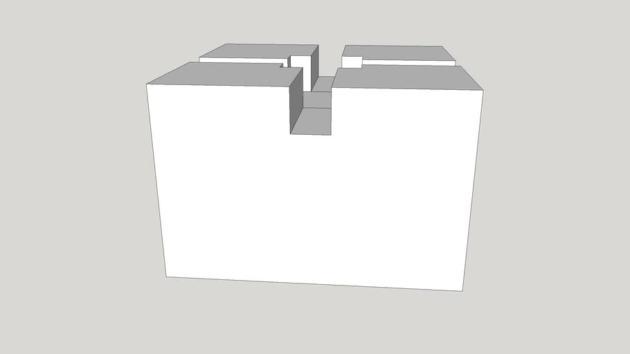 Gray Deck Concrete Block (Common: 12-in x 8-in x 12-in; Actual: 12-in x 8-in x 12-in)