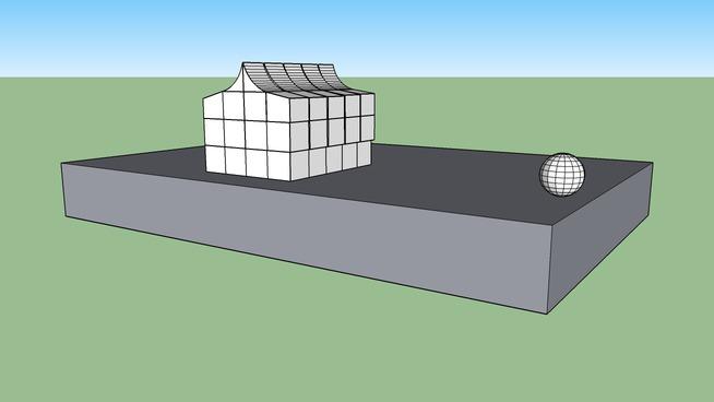 Simple sketchyphysics destructable house