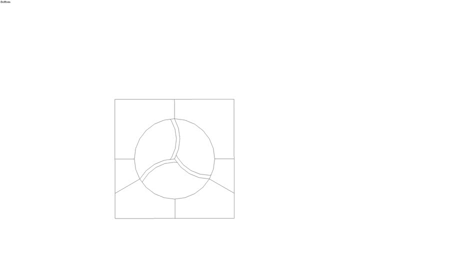 pasta fusilli shape cutout for engraving
