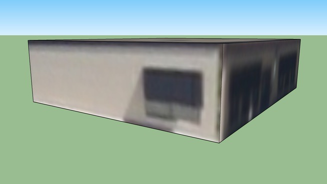 俄克拉荷马城奥克拉荷马美国的建筑模型3