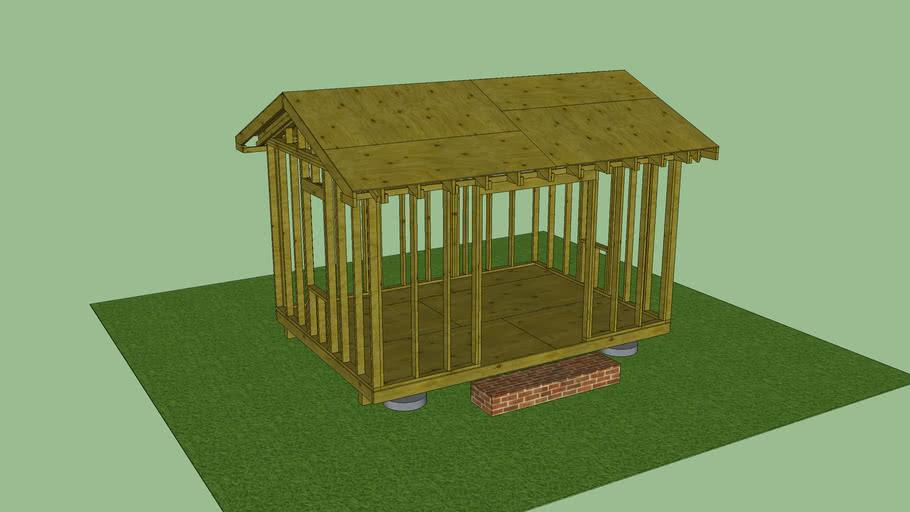 Skol House - Framing Plans