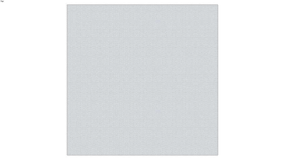 ROCKIT3D | Mesh Hexagon RAL5023