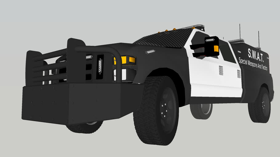 S.W.A.T. (Special Weapons And Tactics) Truck - Ford F-350