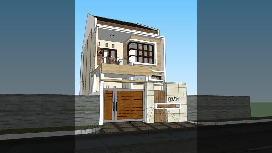 Rumah Renovasi Type 36 | 3D Warehouse