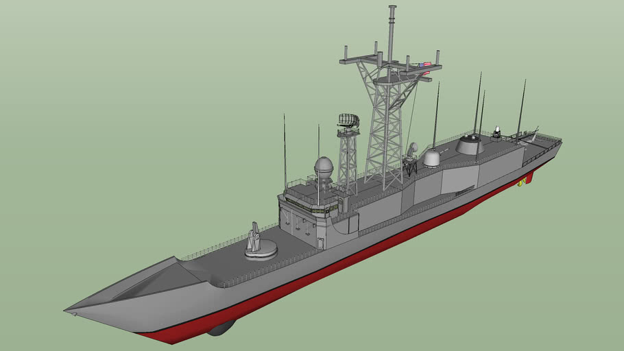 U.S.NAVY Perry class guided missile frigate