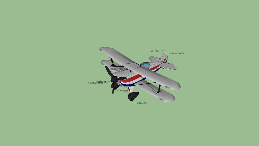 proppellerplane for rct 3 with bones