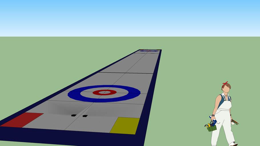Curling sheet