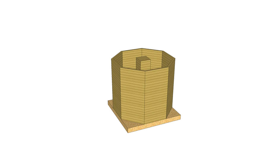Corrogation Storage Bin