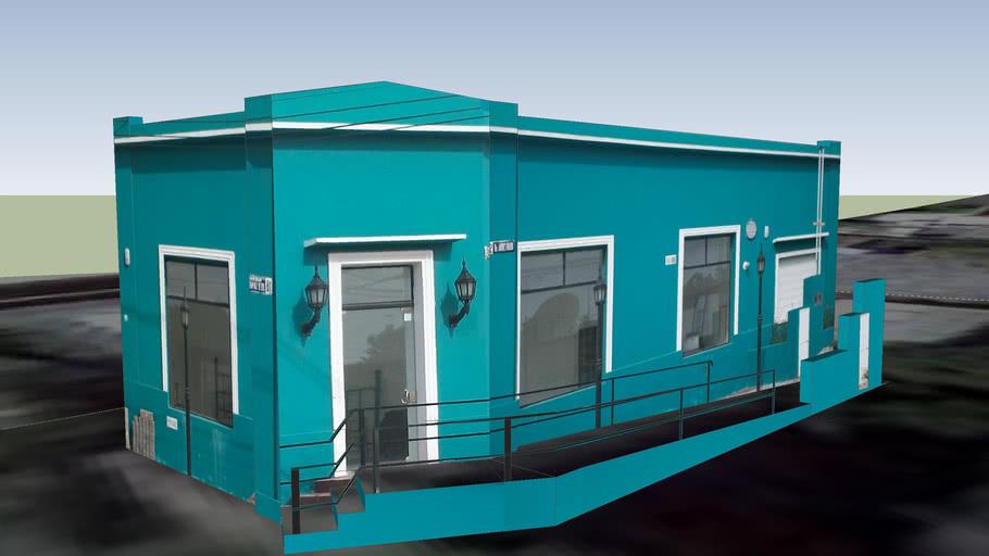 Edificio restaurado.-