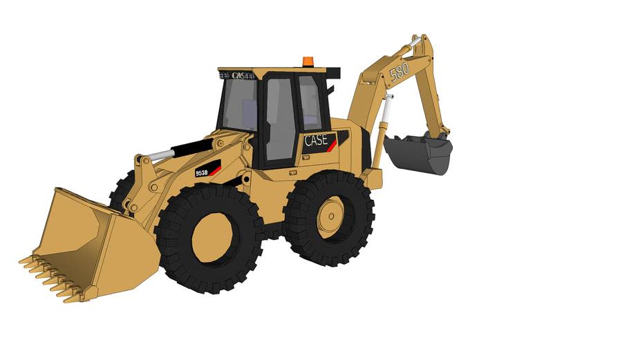 多用途装载挖掘机