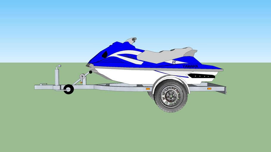 jet ski YAMAHA VX + trailer