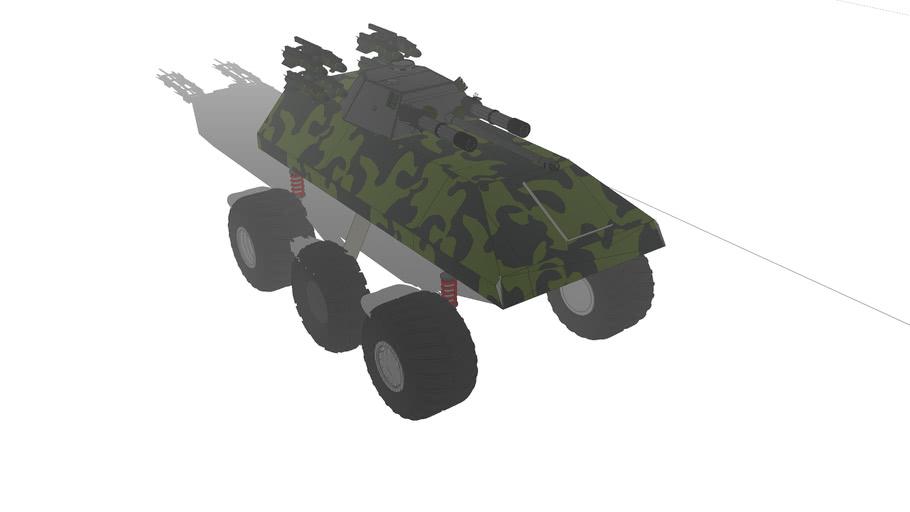 UGCAV (Unmanned Ground Cobmbat Assult Vehicle)