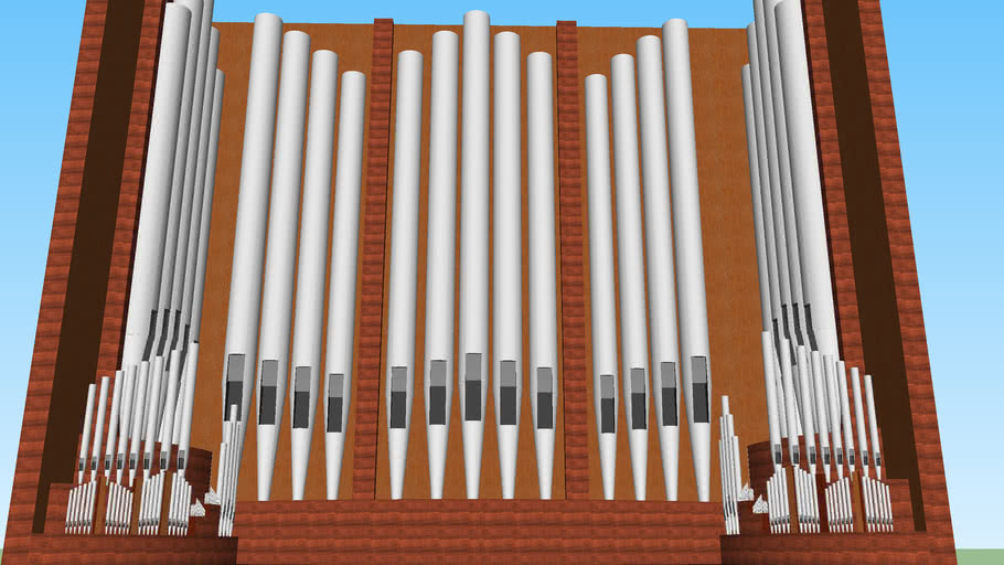 the grand pipe organ