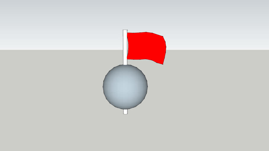 Sphere and Flag