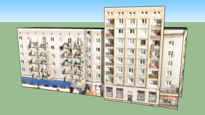 Building in Warszawa, Poland Rug Pulawska i Rozana