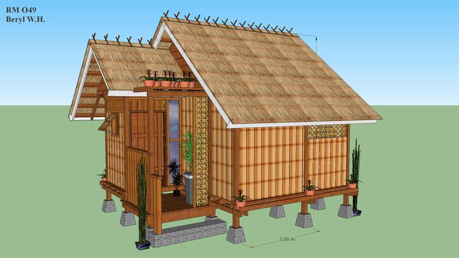Desain Rumah Kayu Sederhana Untuk Anak Mandiri 3d Warehouse