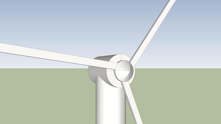Turbina eolica a 3 pale