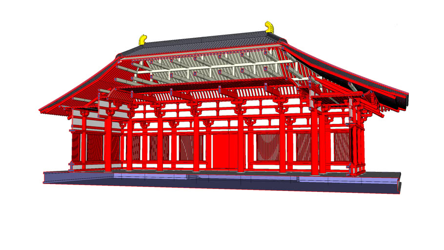 Tosyodaiji Temple Kondo