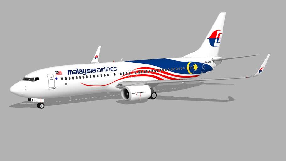 Malaysia Airlines ''Negaraku'' (9M-MXS) - Boeing 737-8H6 (2017)
