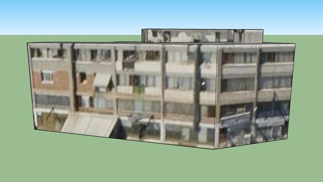 Building in Nikaia, Greece