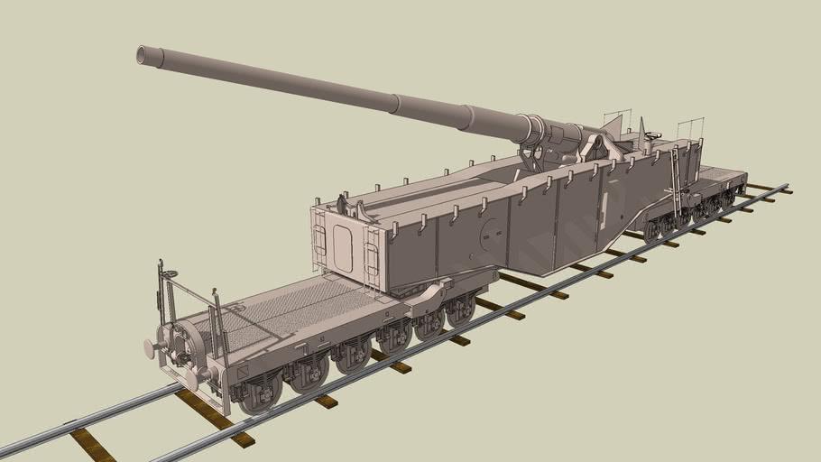 K.5.E de 28 cm (Kanone 5 Eisenbahn)-Leopold