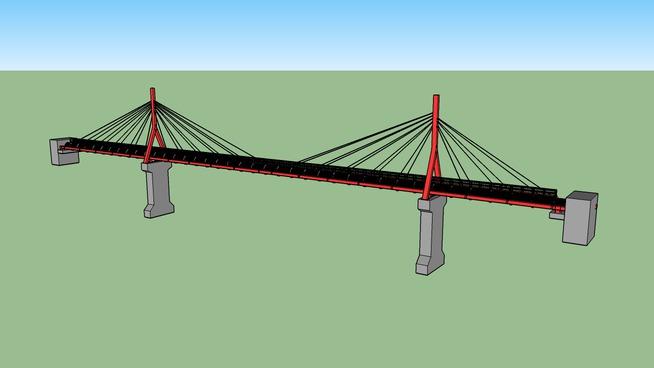 Water pipe bridge