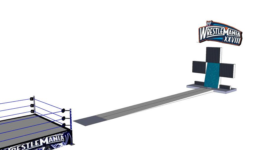 Wrestlemania 28 custom stage