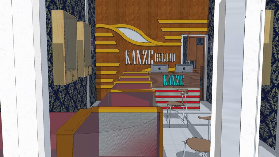 Rencana Interior Design Ruko 1 Lantai