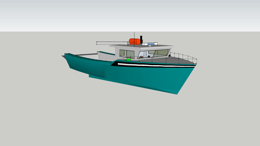 Cape Islander Updated Hull