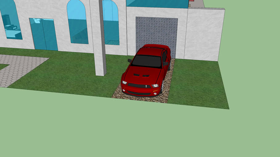 My House (updated- Furniture and car)