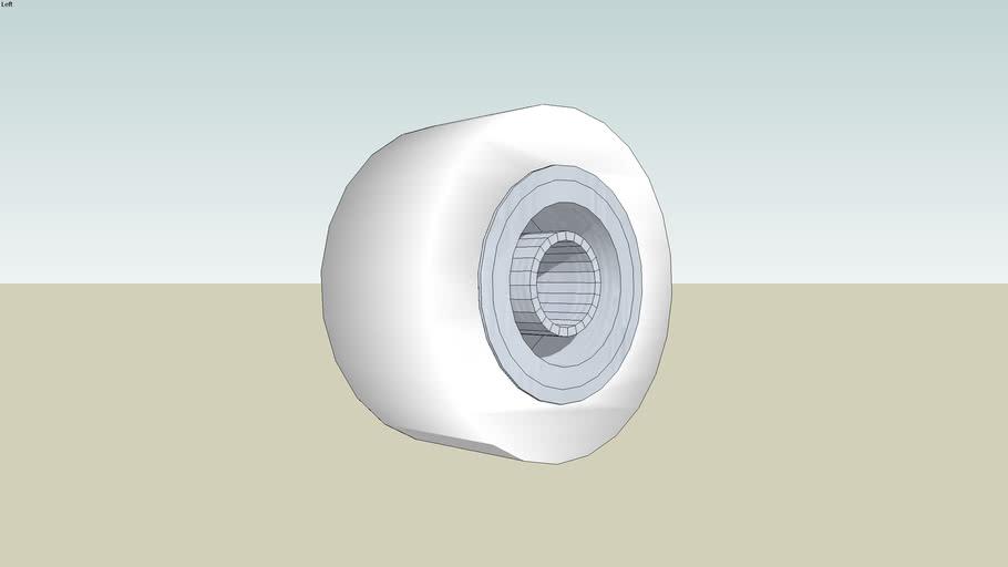 Wheel & Tyre (Not Standard Hub) Custom for Drive Shaft