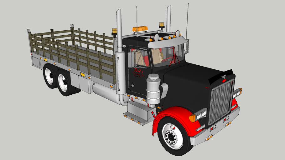 Red's Trucking Inc. Peterbilt Rackbody