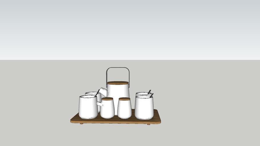Center tablepiece