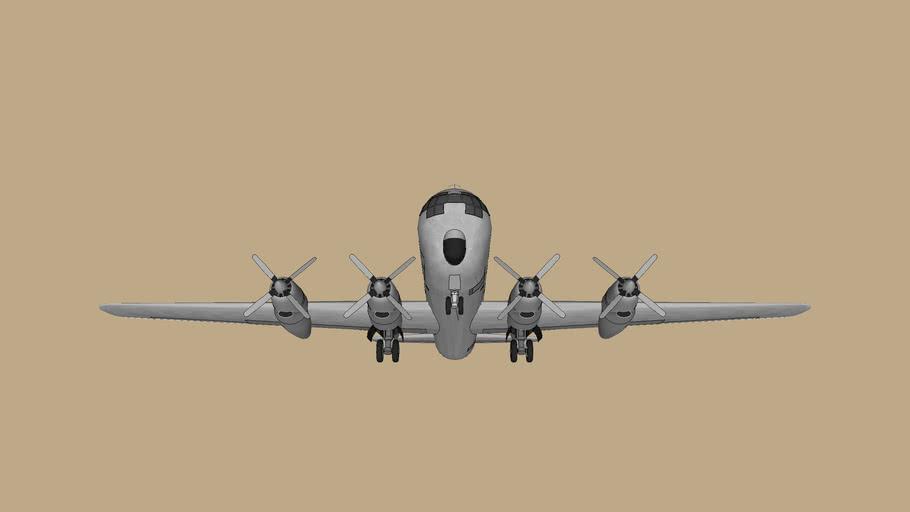 Boeing C-97 Stratofreighter - Template