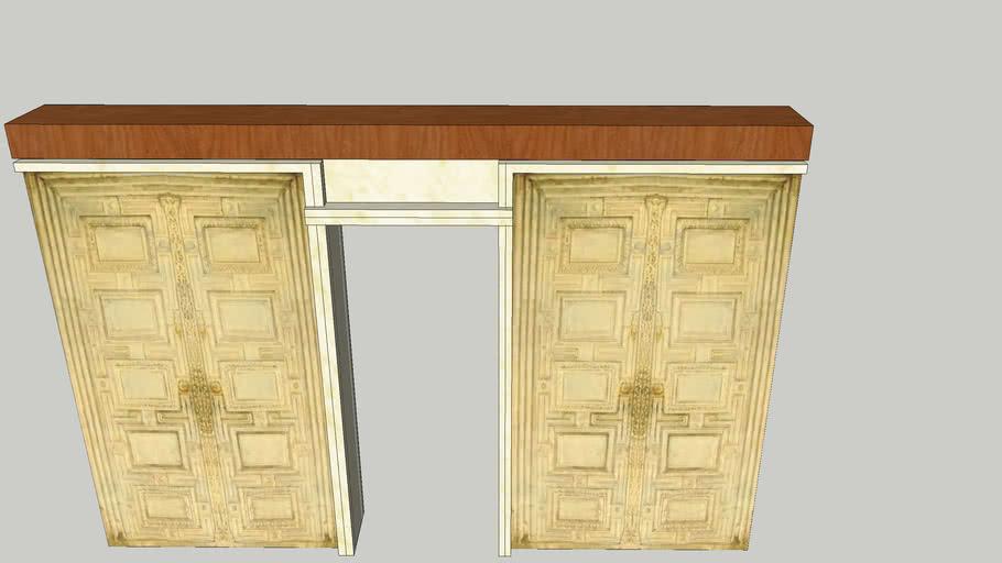 Marble doors (Hagia Sophia)