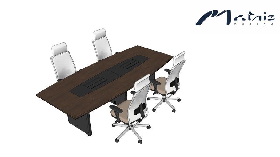 Mesa de Reunião - Cavaletti + Home Office