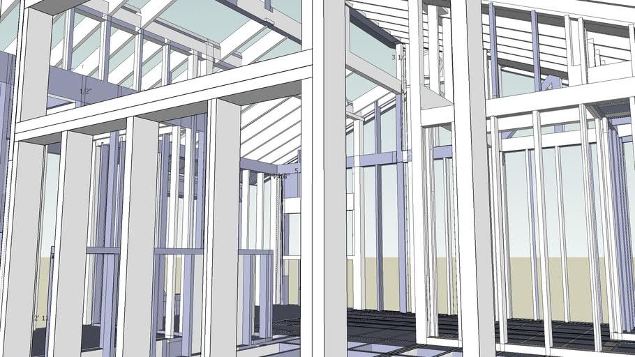 SDL Clerestory Frame-Almost Complete