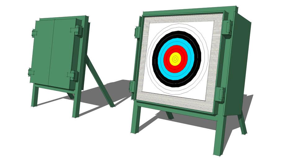 Archery Target Butt at Auckland Archery Club