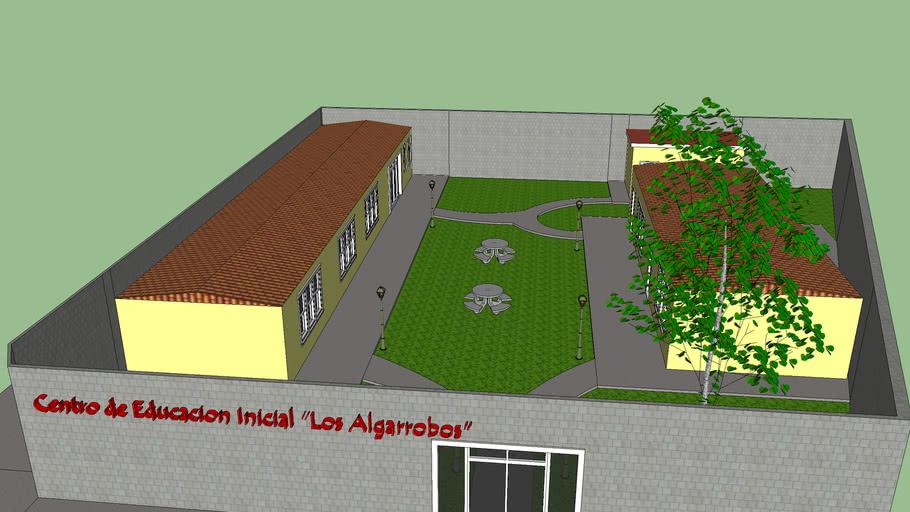 Remodelacion del centro de educacion inicial los Algarrobos Anaco