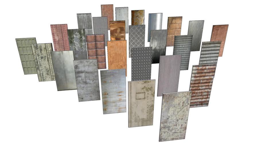 Metal Textures 3d Warehouse