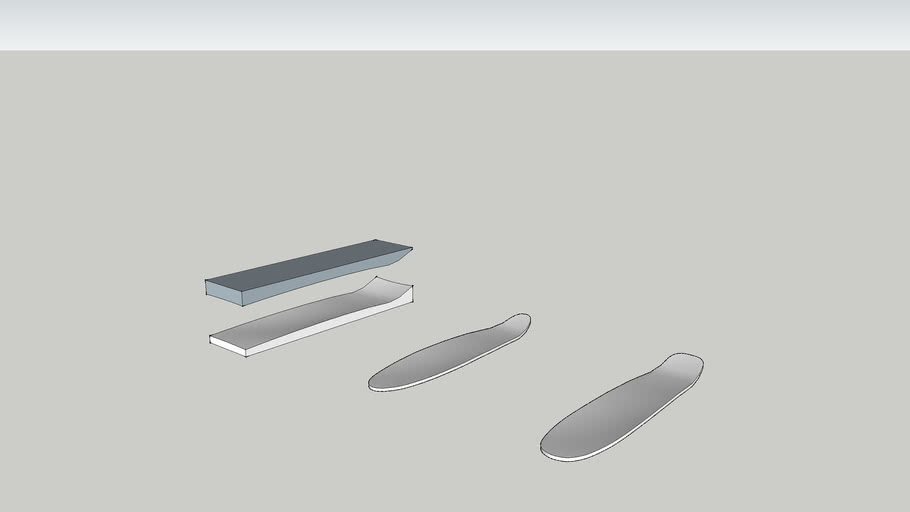 Longboard Mold
