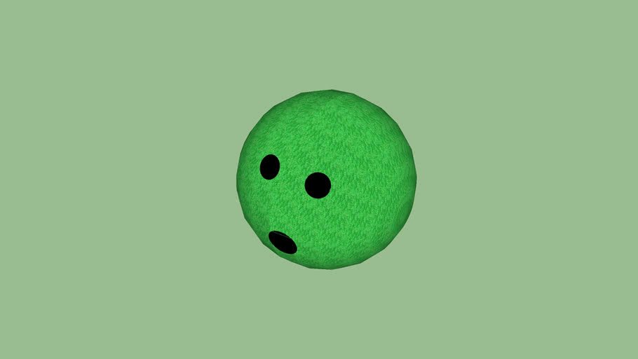 Green Bowling Ball