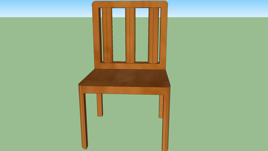Chair in Sketchup